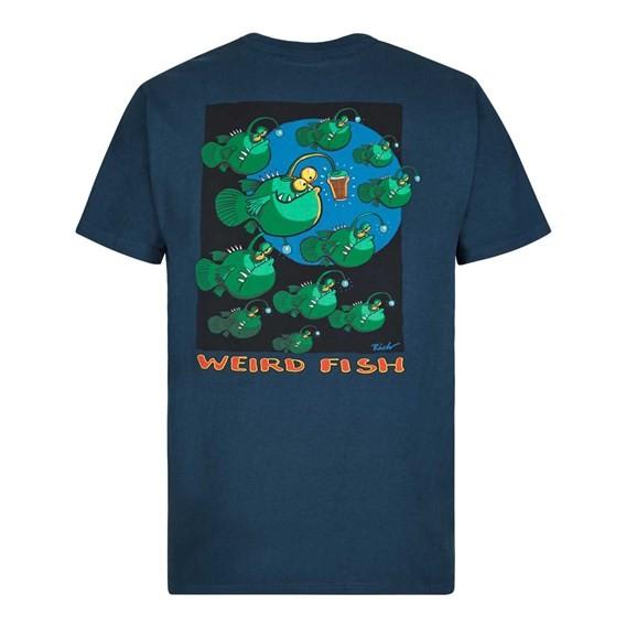 Anglers Artist T-Shirt Moonlight Blue
