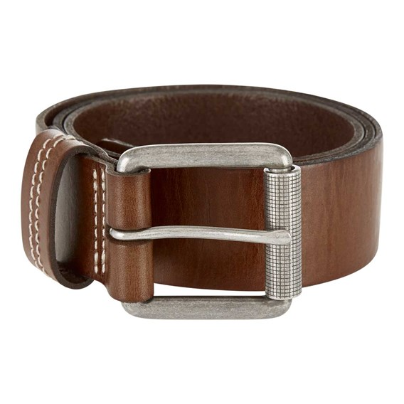 Lava Leather Belt Brown