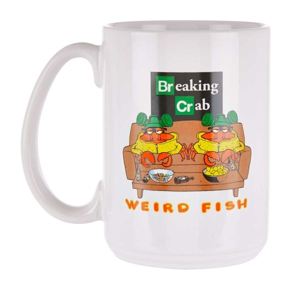 Mug - Breaking Crab