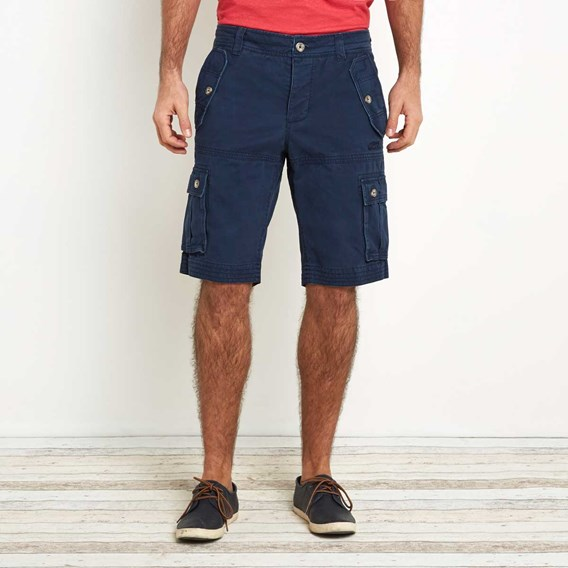 Quake Twill Cargo Short Moonlight Blue