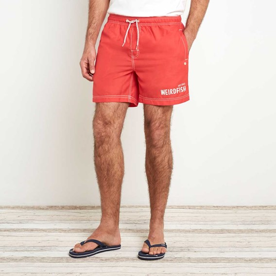 Volac Board Short Radical Red