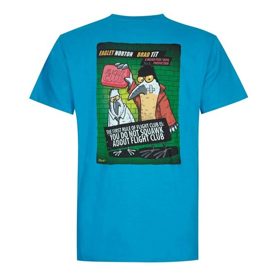 Flight Club Artist T-Shirt Blue Jay