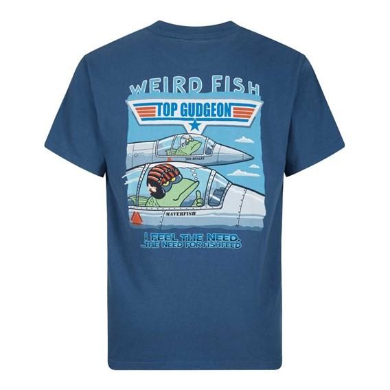 Top Gudgeon Artist T-Shirt Ensign Blue