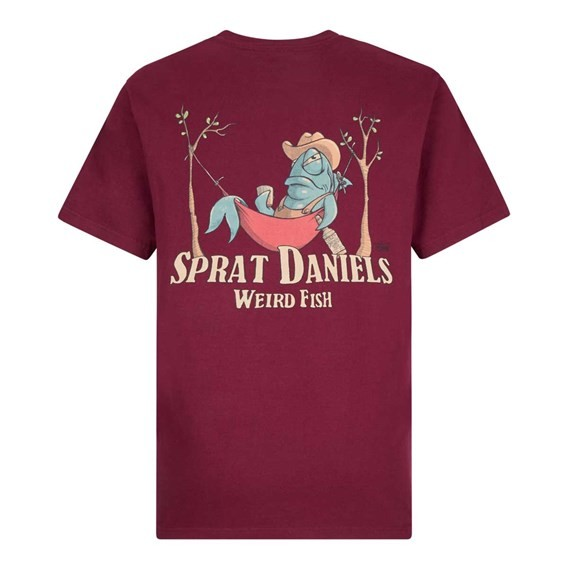 Sprat Daniels Artist T-Shirt Dark Wine