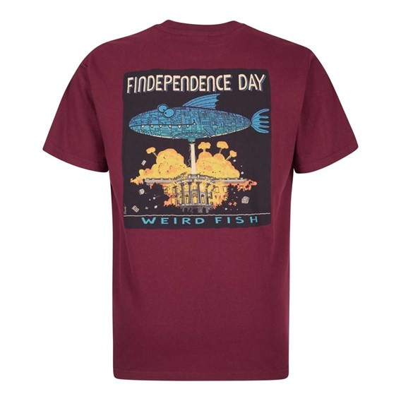 Findependence Artist T-Shirt Dark Wine