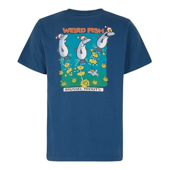 Brussel Trouts Artist T-Shirt Ensign Blue