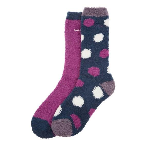 Park Fluffy Sock 2-Pack Sloeberry