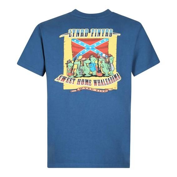 Lynrd Finyrd Artist T-Shirt Ensign Blue