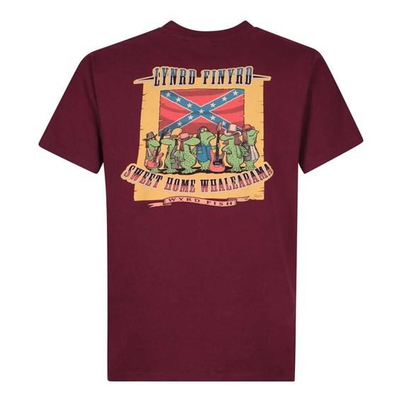 Lynrd Finyrd Artist T-Shirt Dark Wine