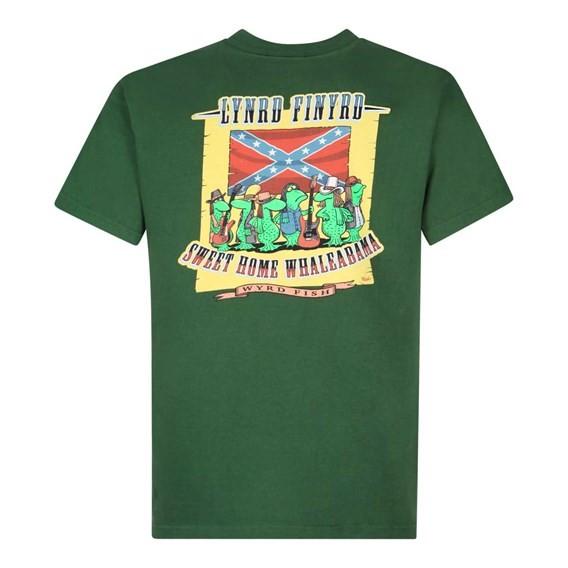 Lynrd Finyrd Artist T-Shirt Olive