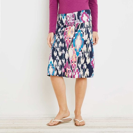 Malmo Printed Jersey Skirt Ink