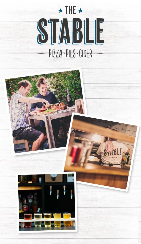 WIN Pizza and Cider from The Stable