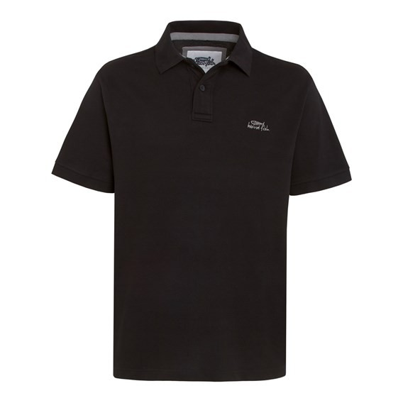 Barros Pique Polo Shirt True Black