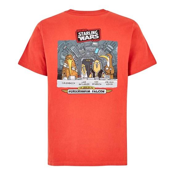 Starling Wars Artist T-Shirt Tango Red