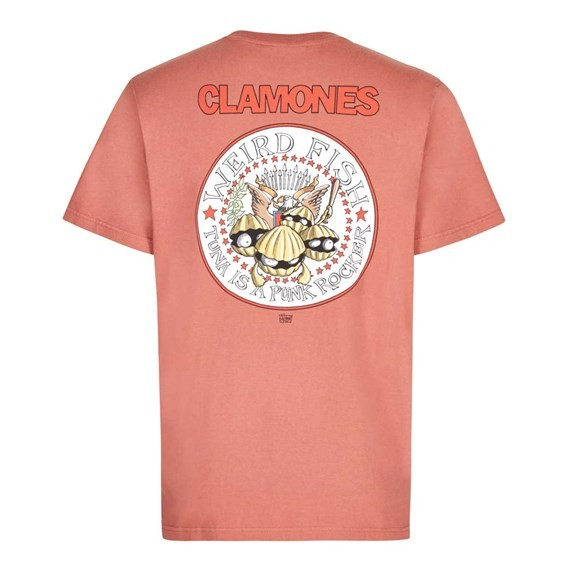 Clamones Artist T-Shirt Brick Red