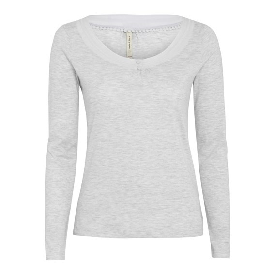 Ionia Long Sleeve Top Grey