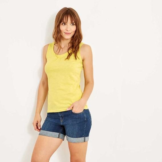 Beeches Outfitter Vest Lemon Yellow