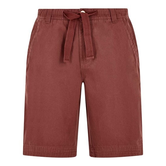 Gifford Cotton Twill Shorts Oxblood