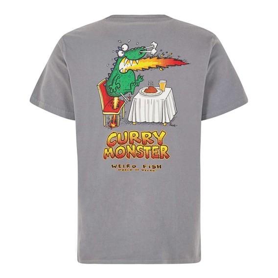 Curry Monster Artist T-Shirt Grey