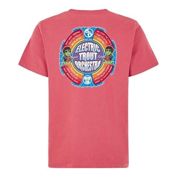 Electric Trout Artist T-Shirt Rose