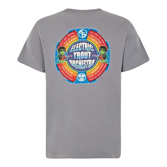 Electric Trout Artist T-Shirt Grey