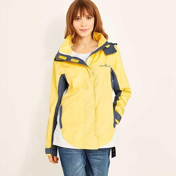 Skyline Waterproof Shell Jacket Lemon Yellow