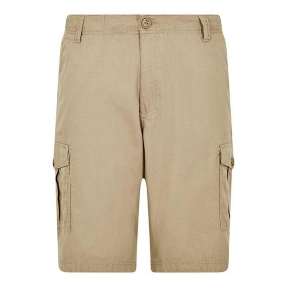 Kline Cotton Ripstop Shorts Taupe Grey