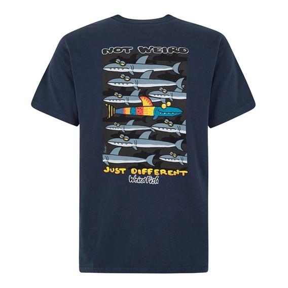 Not Weird Artist T-Shirt Black Iris