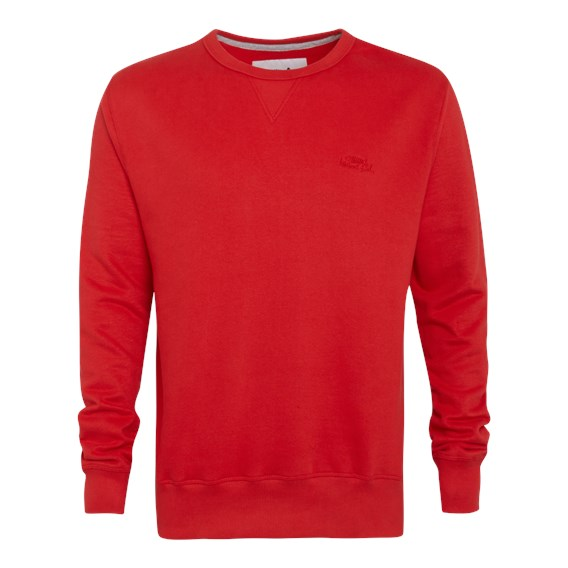 Eyre Crew Neck Sweatshirt Mars Red