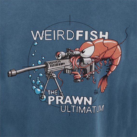 Prawn Ultimatum Artist T-Shirt Blue