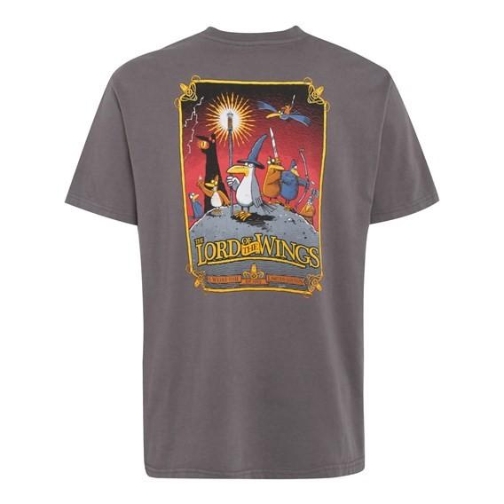 RSPB Lord of the Wings Artist T-Shirt Dark Gull Grey