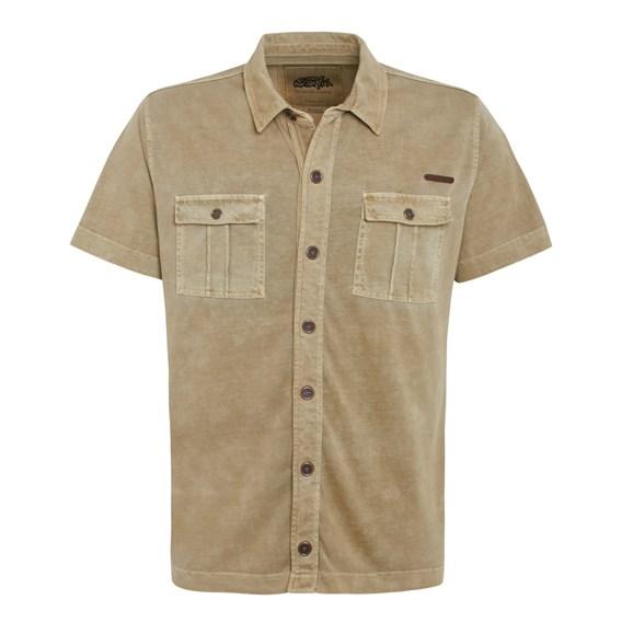 Seine Jersey Shirt  Taupe Grey