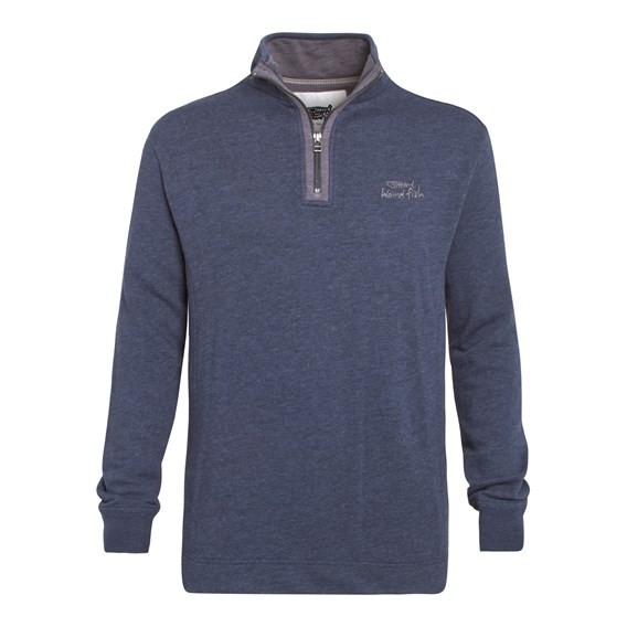 Rupel 1/4 Zip Sweatshirt Dark Navy