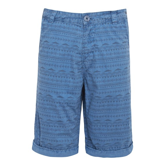 Geofish Printed Shorts Airforce Blue