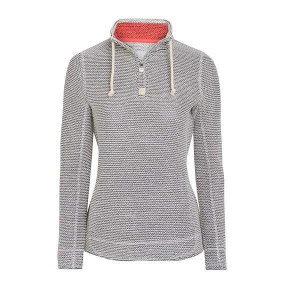Indira 1/4 Zip Mac Active Sweatshirt Ecru