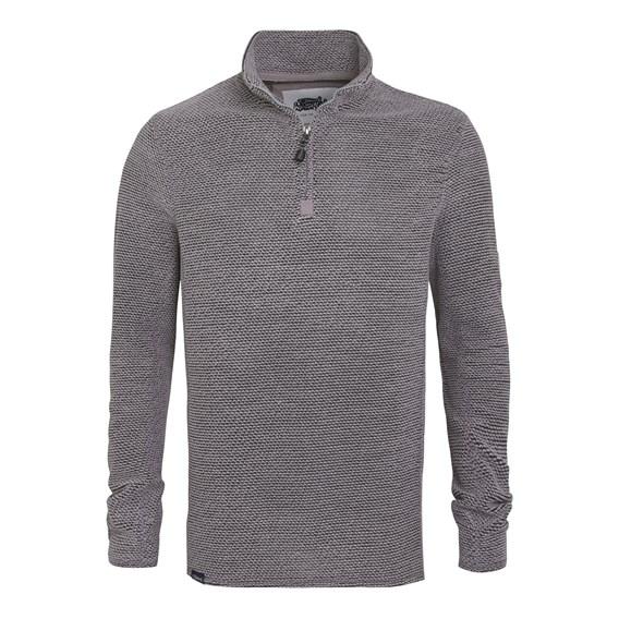 Doren 1/4 Zip Mac Active Sweatshirt Frost Grey