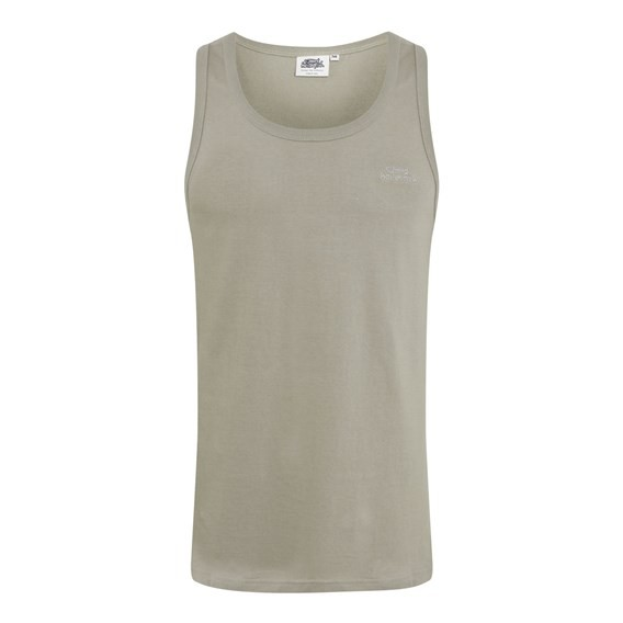 Baralro Embroidered Vest Top Pale Silver