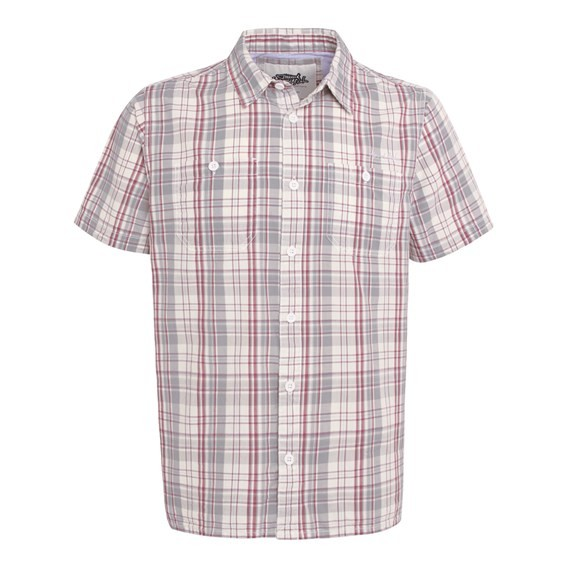 Farley Short Sleeve Shirt Pale SIlver