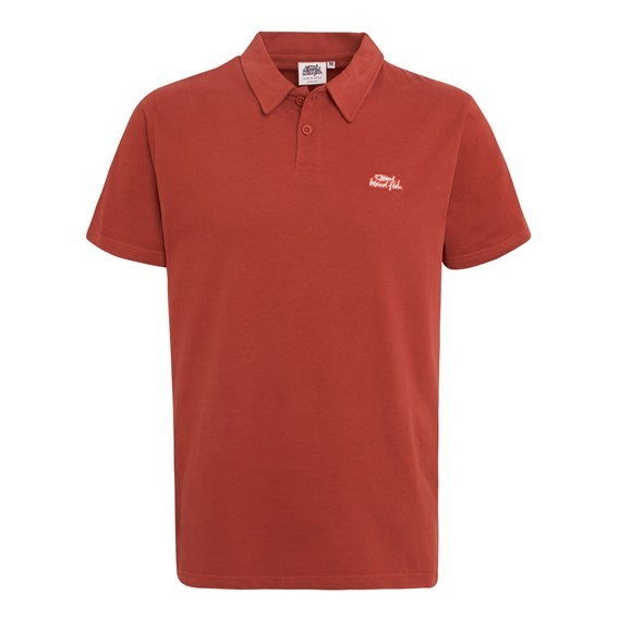 Andrew Jersey Polo Ketchup Red