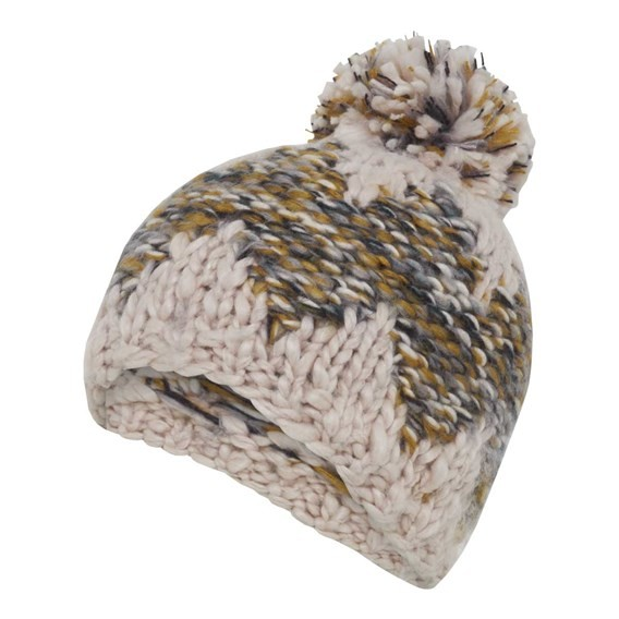 Norway Slub Yarn Soft Chunky Hat Pebble