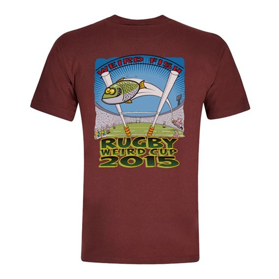 Rugby World Cup Printed Artist T-Shirt Conker